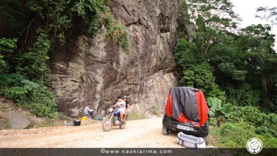 Dia de escalada e trabalho e Apeninos (2010)