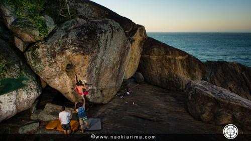 Praia dos Padres, Guarapari