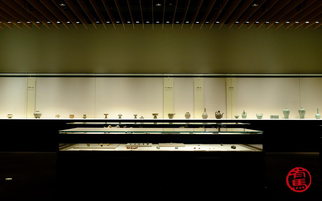 Exposição de cerâmica no Museu Nacional de Tokyo
