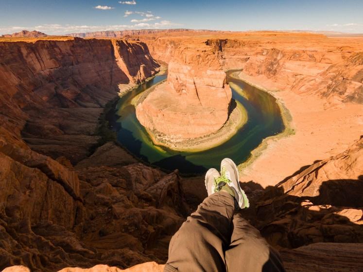 O meandro do Rio Colorado mais famoso!