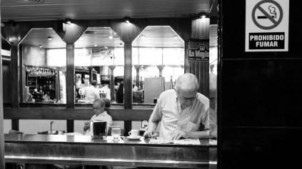 Cena típica de uma manhã em Mendoza.