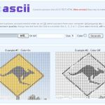 写真を文字データに変換 -アスキーアート-