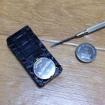アクアのスマートキーのボタン電池を交換してみた