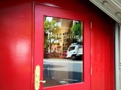 Lovely red door