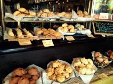 Rows of scones
