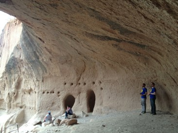 Alcove House in Bandelier National Monument