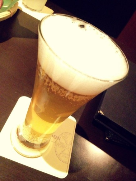 Beer at TAKI Shibuya