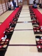 Shōjin ryoōri seats