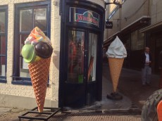 Leiden ice cream shop