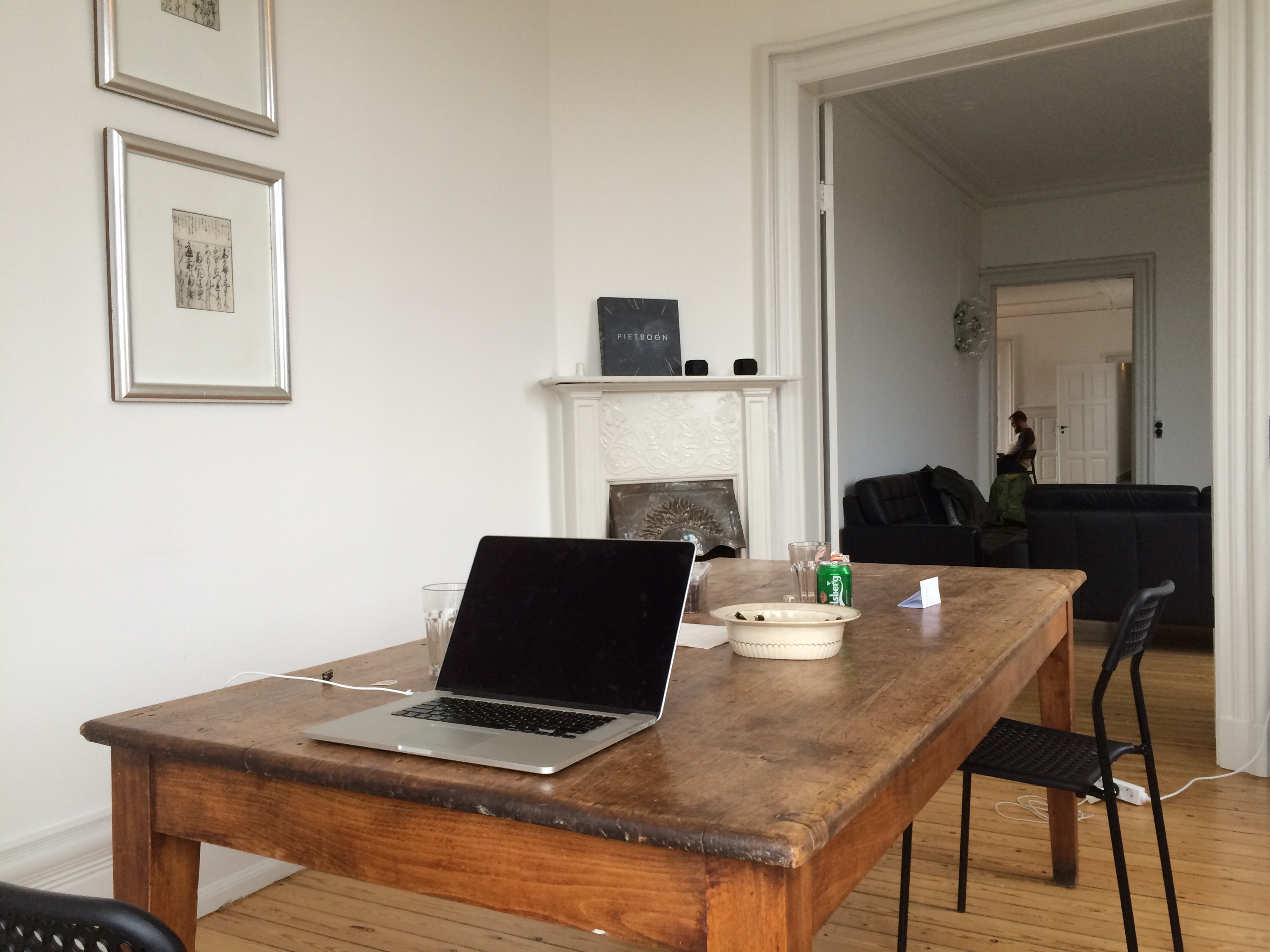 Workroom at the apartment
