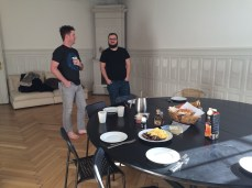 Breakfast at Airbnb