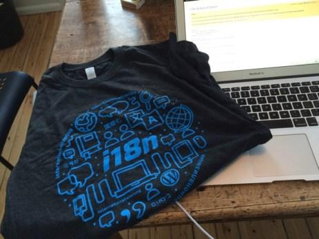 Team Global t-shirt