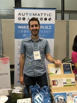 Jordan, the newest Automattician in Japan
