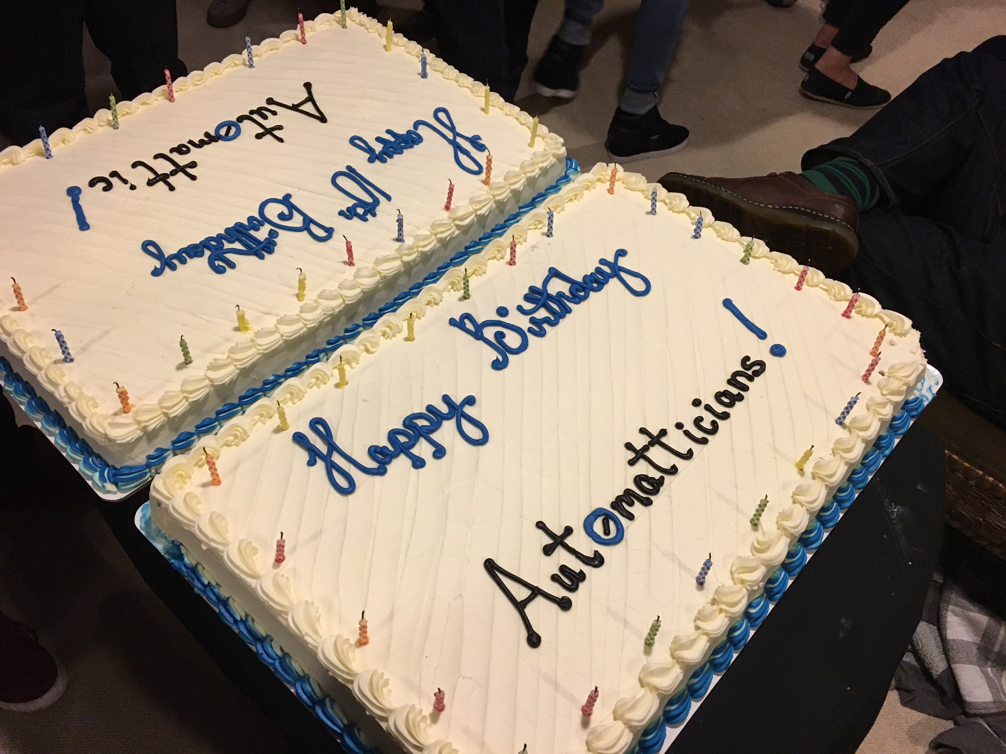 Automattic Birthday Cake
