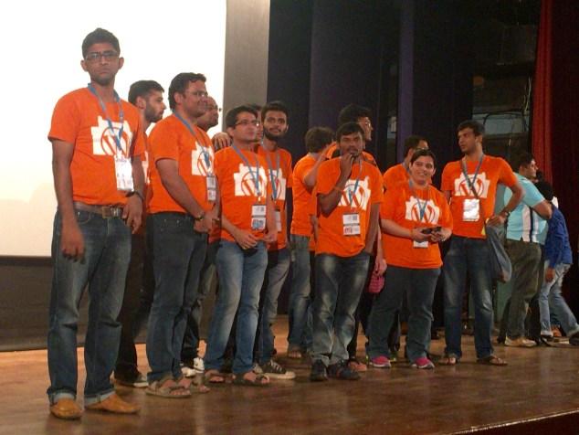 WordCamp Mumbai 2016 organizers