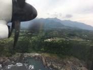 Before landing Yakushima