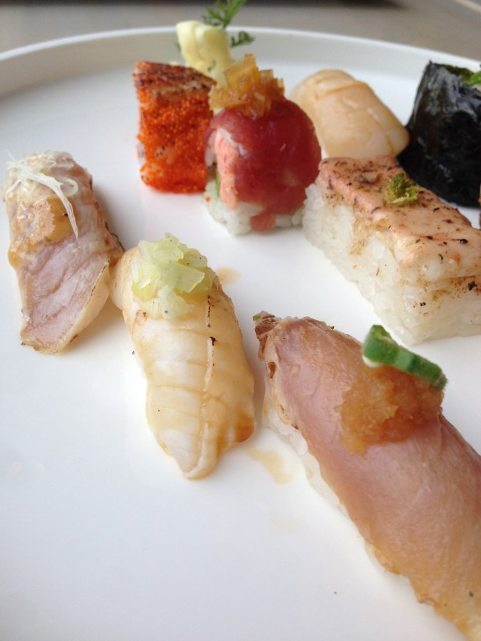 A delicious selection of nigiri.