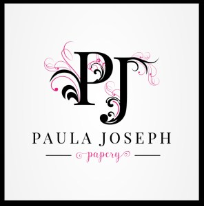 Logo design for Wedding Stationary Paula Joseph Papery
