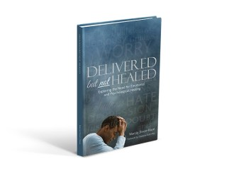 Book Cover design for Delivered but not Healed