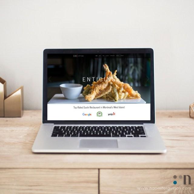 Soho Sushi Lounge Website