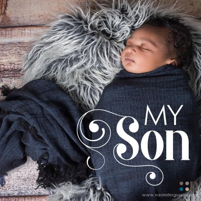 My Son, Gabriel King Mukonkole