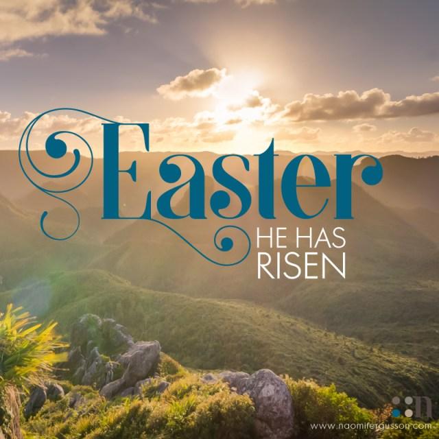 Happy Easter. He Has Risen