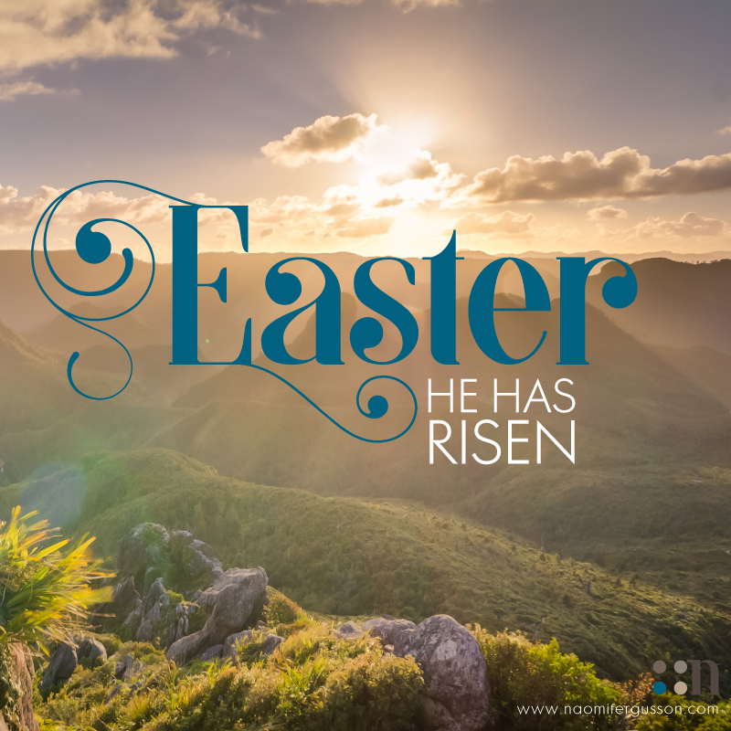 Happy Easter. He Has Risen