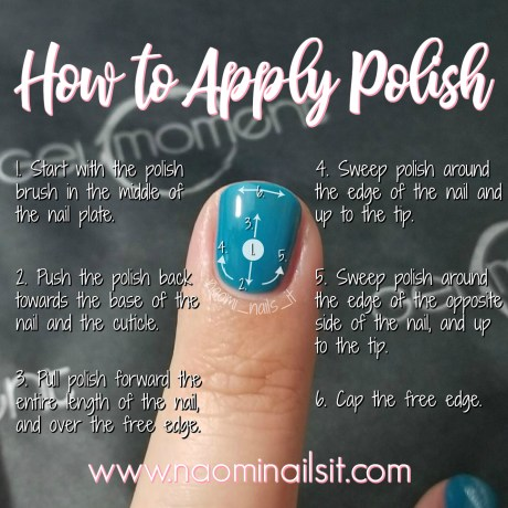 how to paint your nails, how to apply polish, how to apply gelmoment, apply gelmoment, gelmoment, gelmoment gel polish, naomi nails it