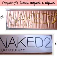 Comparação: NAKED original e réplica