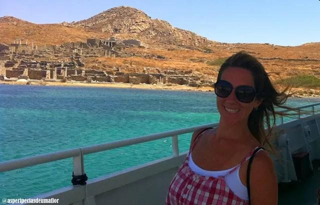 Ilha de Delos – passeio de bate volta desde Mykonos