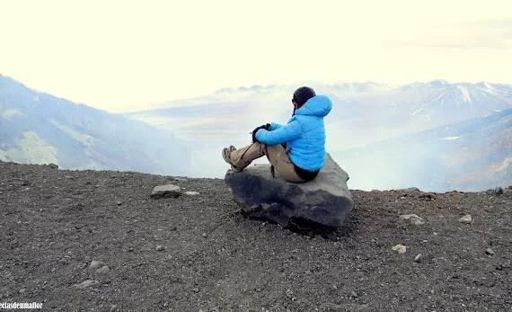A experiência de escalar o vulcão Lascar, Atacama