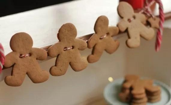 Gingerbread Man para enfeitar a casa na noite de Natal