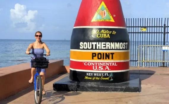 Andar de bike em Key West – melhor forma de locomoção