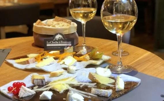 Degustação de queijos em Strasbourg na La Cloche à Fromage