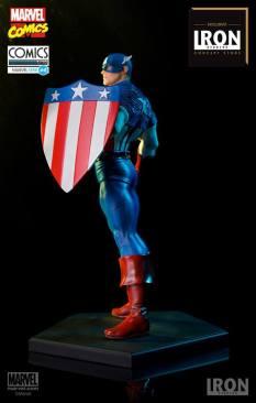 Iron Studios - Captain America Art Scale 1 10 - Marvel Comics Série 4 concept 02
