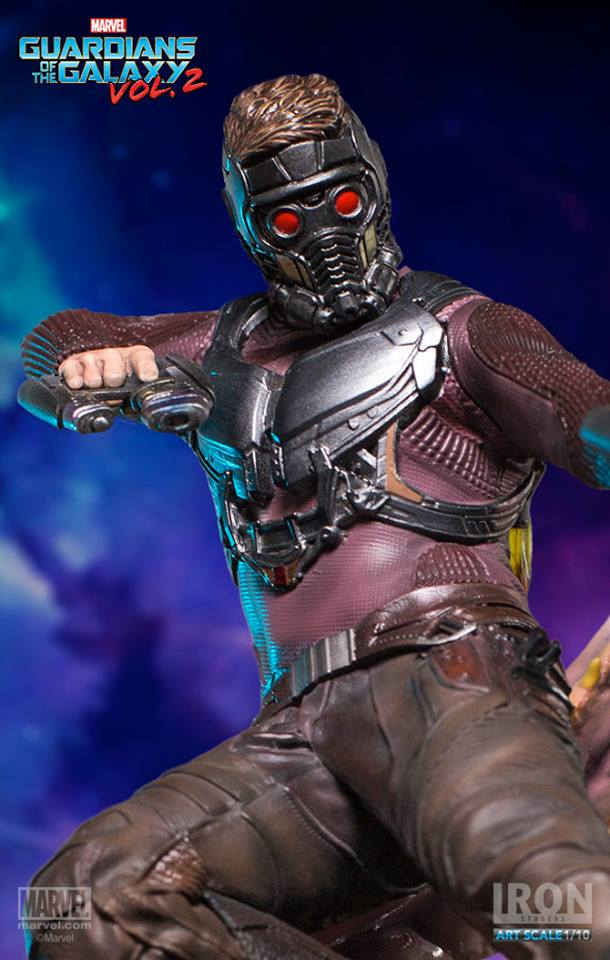 Iron Studios Star Lord BDS Art Scale 110 Guardians Of