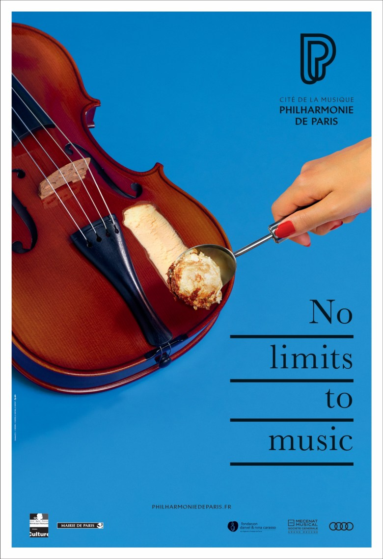 philharmonie de paris print advert by betc: no limits, 2 | ads of