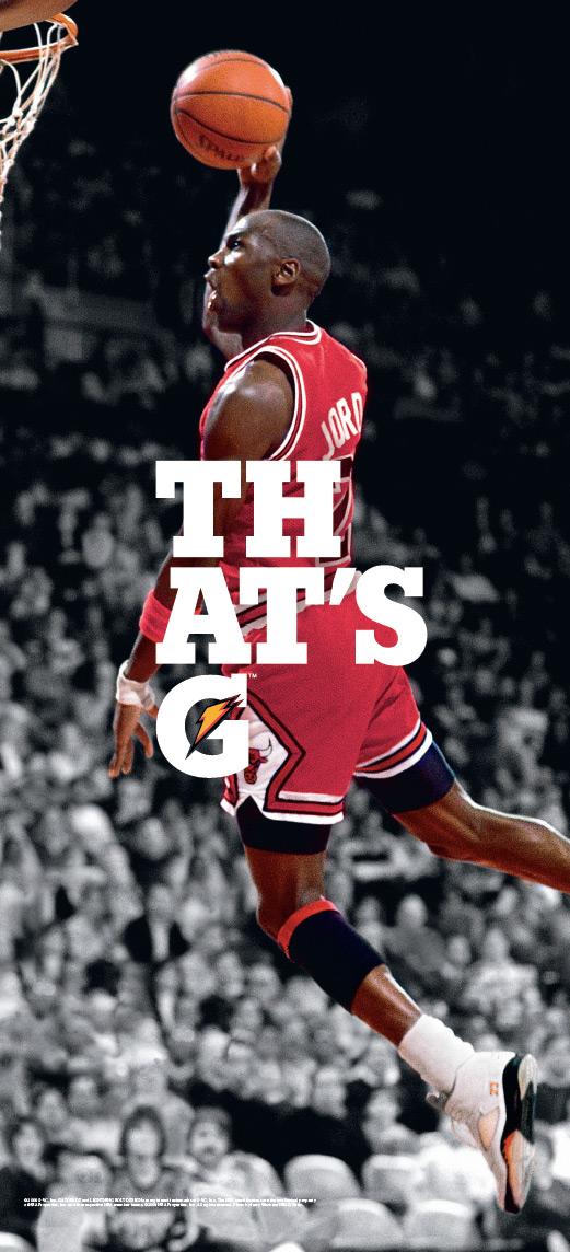 Gatorade Print Advert By TBWA Jordan magazine cover  Ads of the World