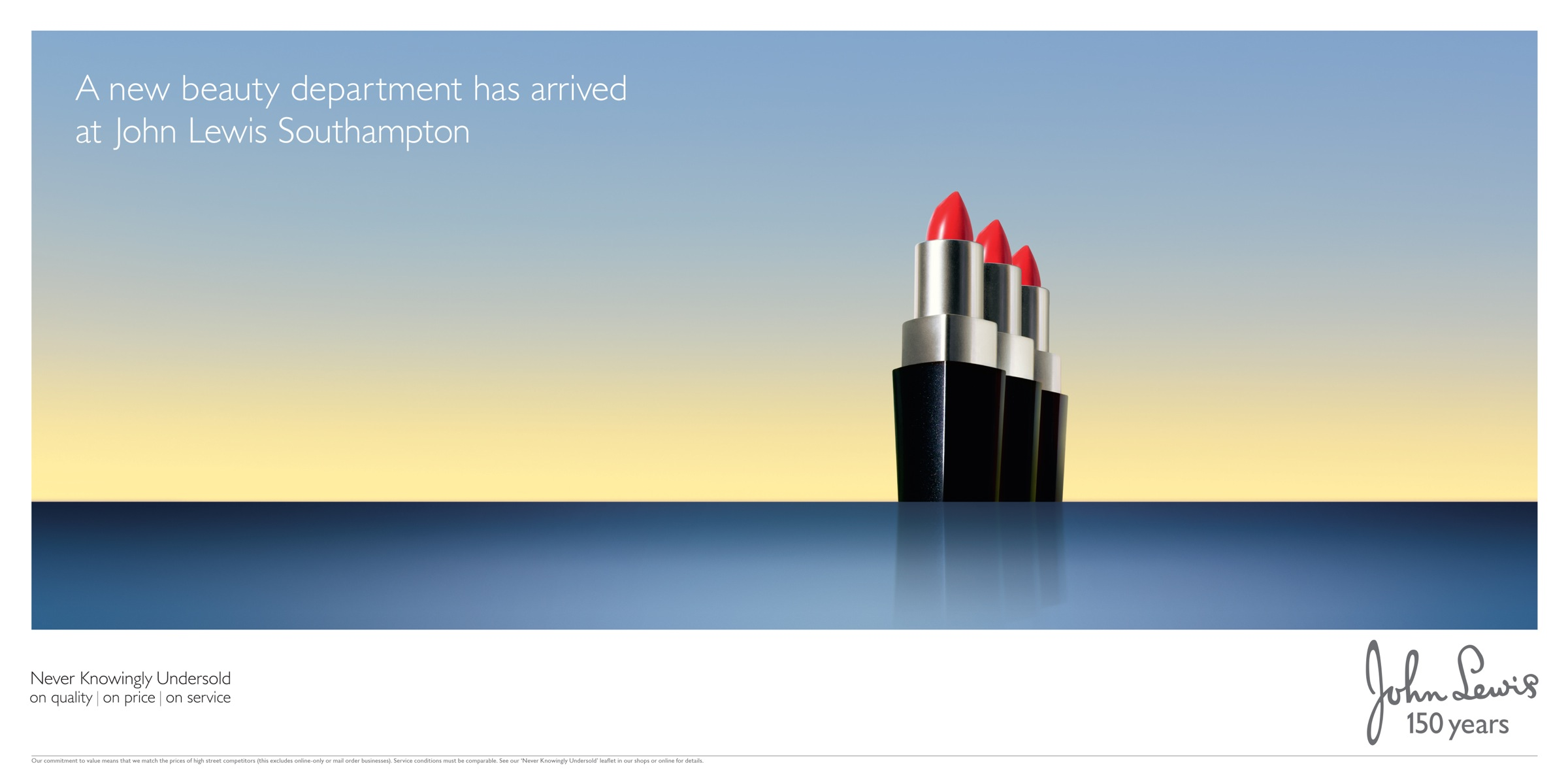 John Lewis Outdoor Advert By DDB Beauty  Ads of the World