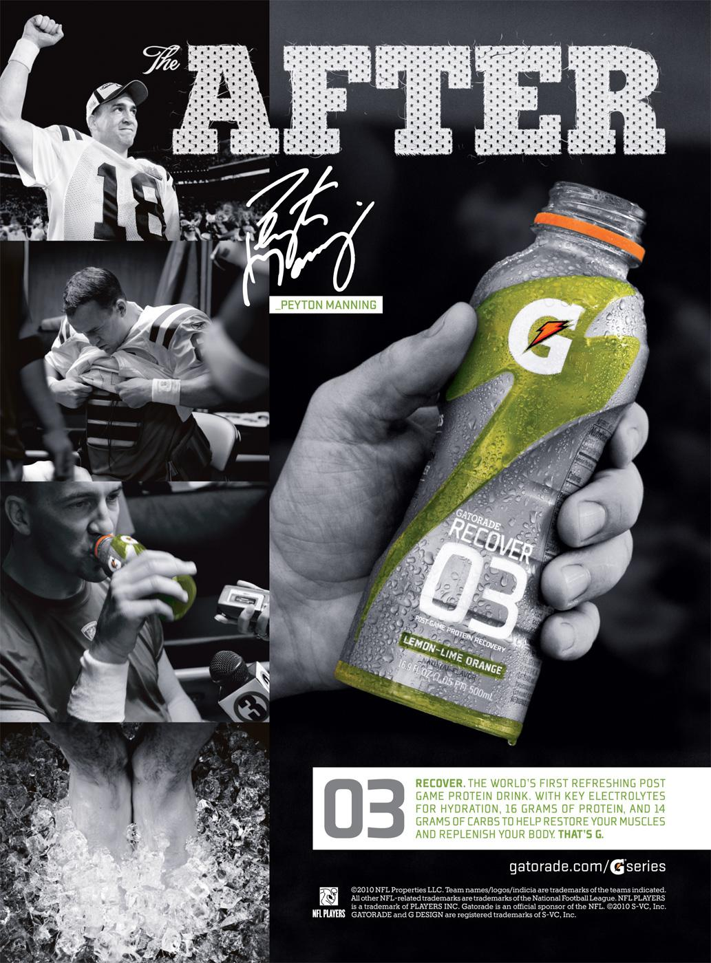 Gatorade Print Advert Tbwa Ads Of World