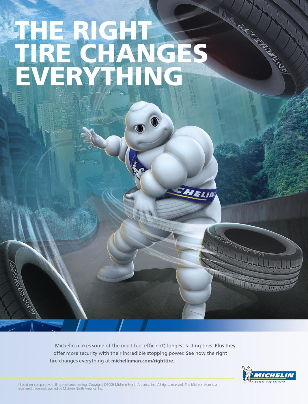 Michelin Print Advert By TBWA The right tire  Ads of the