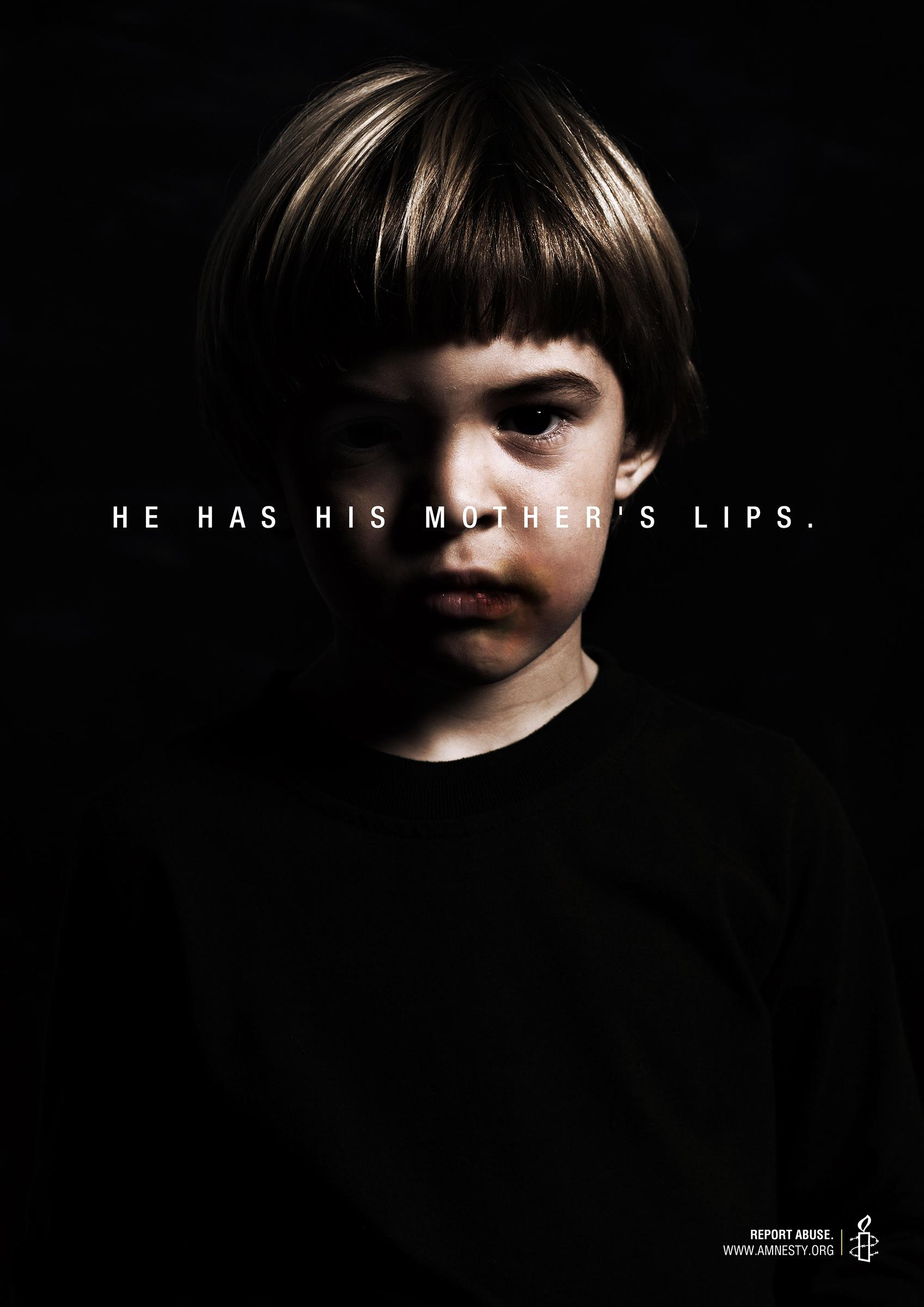 Amnesty International Print Advert By Brother Ad School Lips  Ads of the World