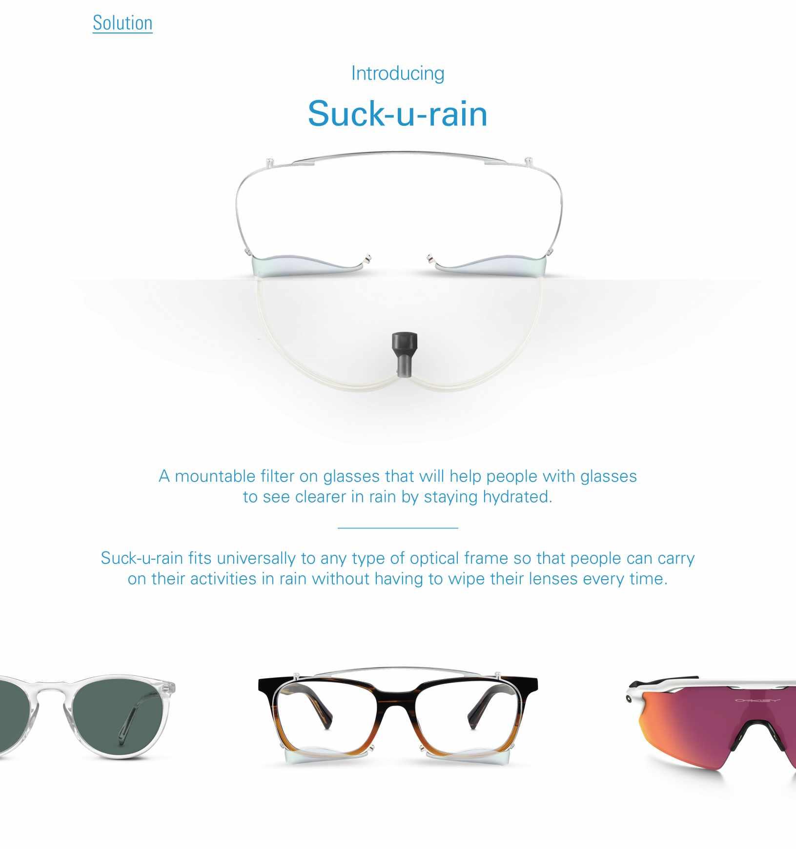 Brita Experiential Ad - Suck-U-Rain