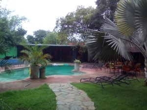 Livingstone backpackers poolLivingstone backpackers pool