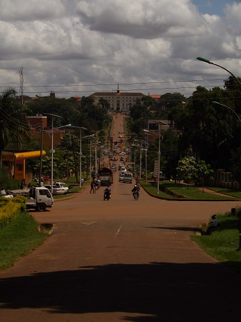 Road to Parliament from Royal Palace