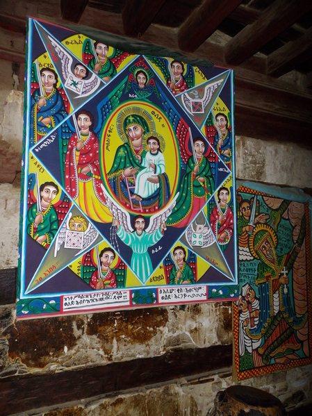 Debre Damo Monastery Paint