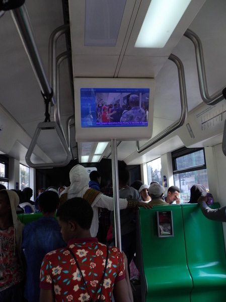Ethiopia train tv