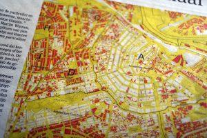 Erfpacht kaart in Amsterdam (Bron: Flickr)