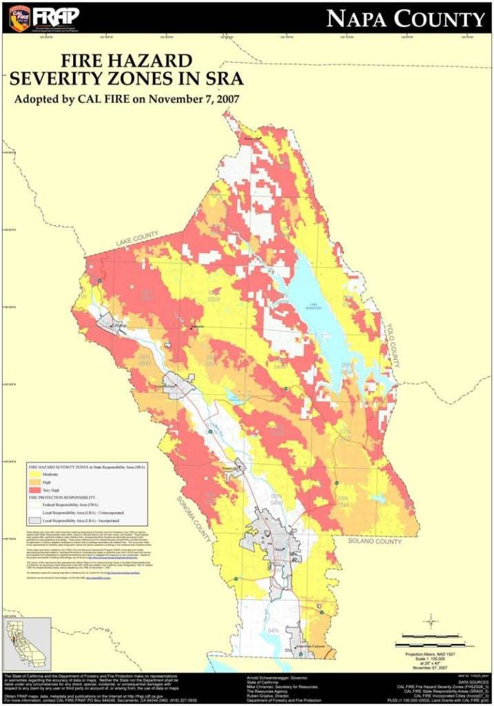 Fire Severity map