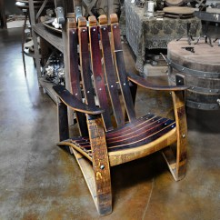 Wine Barrel Chair Covers On Wish Stave Adirondack Napa General Store